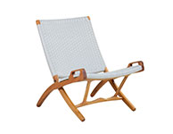 Roxy Folding Chair White