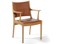 Laurel Arm Chair Red