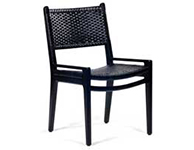 Hardy Dining Chair Black
