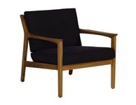 Americana Lounge Chair Black