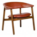 Boomerang-Arm-Chair-Red-Leather