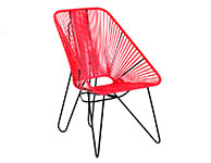 Oaxaca Chair Red