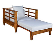 Wind Arm Chair Bed