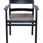 Stackable-Chair-Black-Front