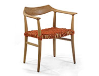 Russel Chair, Custom Weave