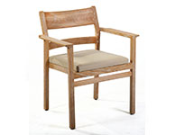Stackable Oak Chair