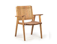 Vega Arm Chair Teak